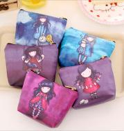 Special girl zero wallet cartoon coin bag dream starry girl pocket key bag manufacturer direct sale
