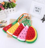 Watermelon fruit strawberry Lemon Hand Bag Purse Tote cartoon art large variety of birthday gift