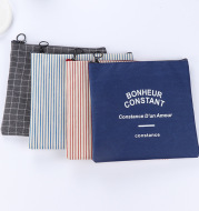 BW001 is a simple Sufeng Canvas Wallet Zipper bag size change key bag coin storage bag