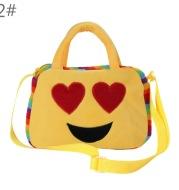 10 square face children face cute plush doll portable bag shoulder bag for children in kindergarten