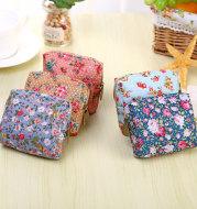 Langjie creative floral Mini cloth purse Korea children cute little coin bag wallet factory direct