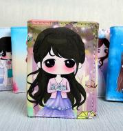 Factory direct sales of 2021 new cartoon cute girl Korean version seventy percent off zero wallet