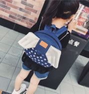 Baby boys and girls' schoolbag winged baby boys and girls nursery school children 1-3 years old and 2 lovely shoulder bag tide