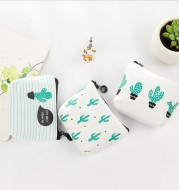 The new creative change package Biezha my purse with Xiaoqing cactus novice Coin Bag Purse