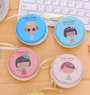 Korean cute horse iron element girl zero wallet mini pocket earphone package coin key bag