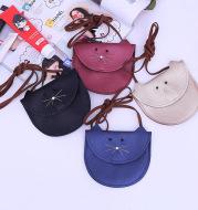 Girl PU bag with clothing Princess Satchel Bag cartoonpocket money bag