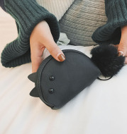 Small mouse zero wallet female Mini lovable Mini Wallet Korean Edition coin bag for students to pack packets