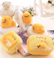 Cute cartoon egg yolk carry small make-up bag, bag, egg, zero purse, pocket, packet and large capacity