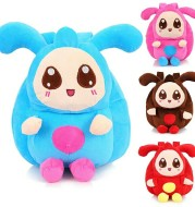 Cute plush toys, double shoulder bag, 1-3-4 year old baby boy backpack boy girl baby girl