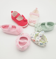 Baby shoes 2020 new sweet and sweet little Princess Ballet shoes can be customized for baby shoe manufacturers wholesale
