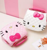 Foreign girls Korean cartoon children Bag Satchel Ktmao type fashion Princess portable shoulder bag