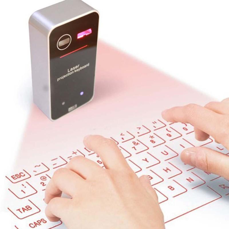 Human - Bluetooth Wireless Laser Keyboard