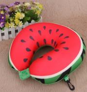 Fruit U-Shaped Pillow