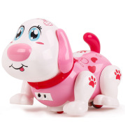 Goldman Sachs 80130 children's toy dog electric little dog baby girl toy is called walking singing