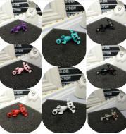 Multicolored Stud Earrings