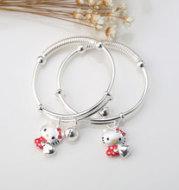 Baby s999 26G jewelry bracelet bracelet red yarn hanging bell Ktmao Ktmao Baby Bracelet