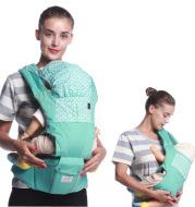 Baby braces with waist stool