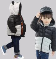 Short down jacket for children