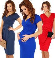Pregnant women's stretch dress