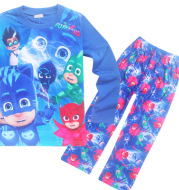 2021 foreign trade home clothes boy and girl pajamas suit fall suit 3305