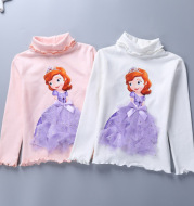 Ice romance bottoming shirt spring and autumn models Aisha cotton long sleeves
