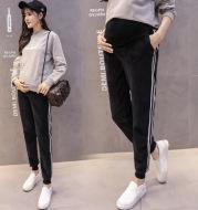 Pregnant women winter Maternity Pants Plus velvet velvet Leggings thickening abdominal warm autumn and winter wear casual trousers