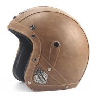 retro 3/4 motorcycle helmet