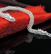 Men's Bracelet in Sterling Silver