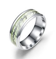 Stainless steel luminous ring