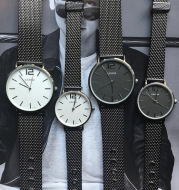 New fashion trend casual men's and women's watches couple watches Simple and  creative watch men's watches