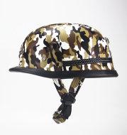 German camouflage motorcycle prince helmet