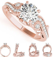 European and American fashion Princess Princess engagement ring