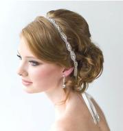 XH86-1 European luxury handmade crystal chaton bride hair band wedding hair headdress aliexpress Ebay