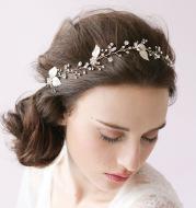 Handmade diamond crystal bride hair band hair head ornaments bride wedding accessories jewelry twigs