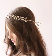 Fresh water pearl bridal hair ornament wedding dress gardresses accessories export accessories twigs&honey