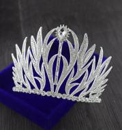 The new high-grade bride headdress big crown European retro Baroque Wedding Princess Wedding jewelry ornaments