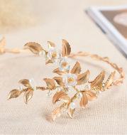2021 Bride Wedding Jewelry Wedding photography wedding accessories Baroque crown headdress portrait hair styling
