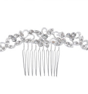 The New South Korean wedding bride comb hair comb bride wedding jewelry accessories manufacturers special offer wholesale oh