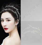 The new bride headdress jewelry baroque style hair with hair wedding jewelry accessories wholesale crystal crown
