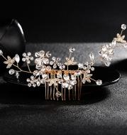 Europe and South Korea Rhinestone BRIDE headdress comb comb wedding wedding jewelry accessories factory