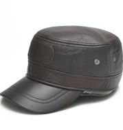 Warm peaked cap