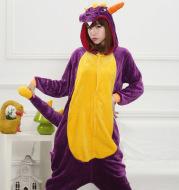 Cartoon animal conjoined pajamas