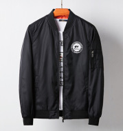 Nylon baseball uniform casual bomber jacket