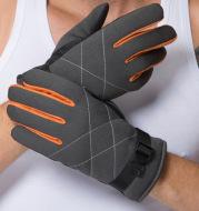 Cold warm sports gloves