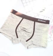 Solid color boxer briefs Sports men's modal cotton tide male boxer shorts Huaxi pants