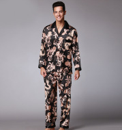 Men's Long Sleeve Pants Pajamas Set