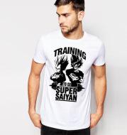 Dragon Ball Goku Men's Slim Cotton Print T-Shirt