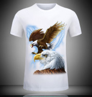 Men's short sleeve T-shirt 3d digital printing