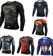 Super Hero Long Sleeve Tshirt