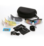 Outdoor bicycle windproof glasses Cycling polarizer Goggles sports sunglasses 5 color suit